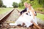 Soutěžní svatební pár číslo 62 - Zuzana a Radovan Dvořákovi, Klopotovice