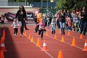 Již potřetí se v Uherském Hradišti uskutečnila dětská běžecká soutěž Čokoládová tretra v prostorech Městského atletického areálu.