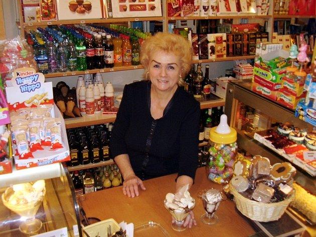 Oblíbenou pochoutkou jsou ve Zlíňance zmrzlinové poháry.