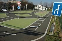 Dopravní hřiště v Uherském Brodě.