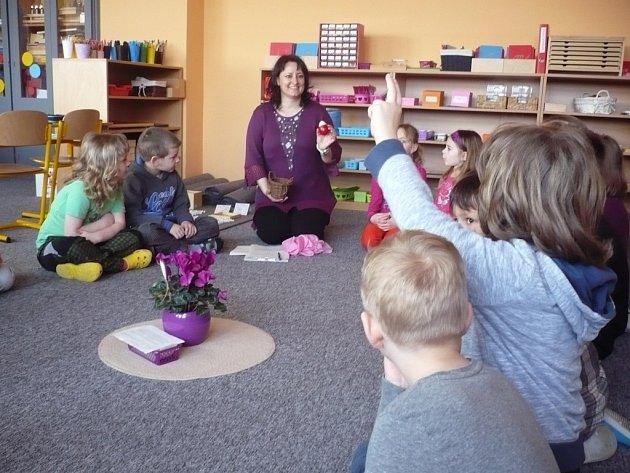 Třída Montessori v Základní škole Za Alejí v Uherském Hradišti