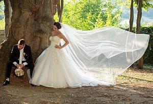 Soutěžní svatební pár číslo 138 - Ivona a David Suří, Dolní Němčí