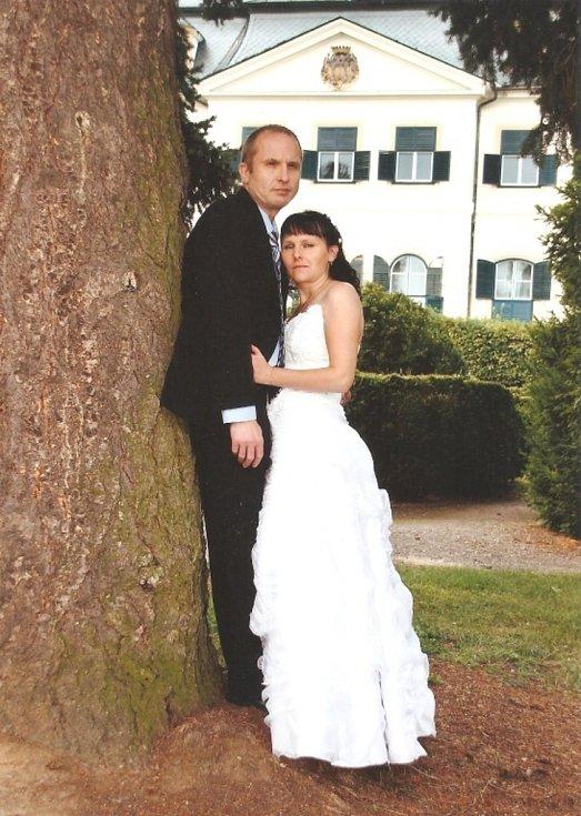 Soutěžní svatební pár číslo 15 - Miluše a Zdenek Dostálovi, Lutín