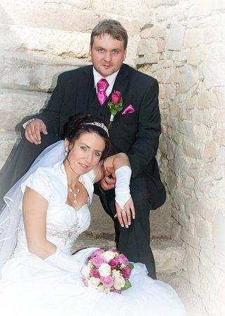 Soutěžní svatební pár číslo 227 - Romana a Filip Gregovští, Rudice.