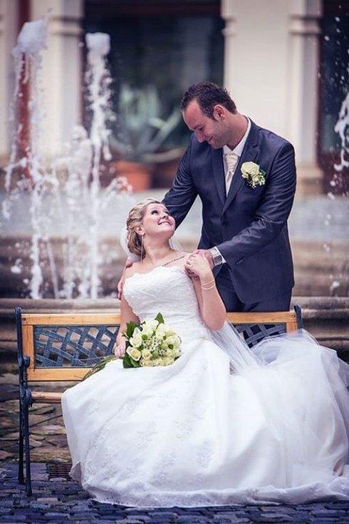 Soutěžní svatební pár číslo 265 - Lada a Libor Štěpaníkovi, Ludslavice