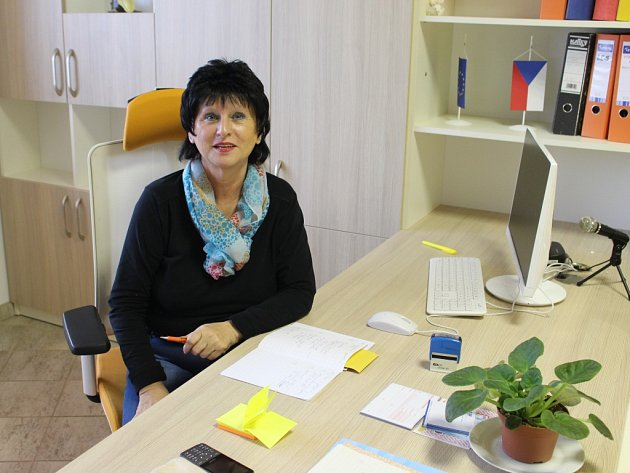 Dočasná starostka Podolí Tatiana Perničková.