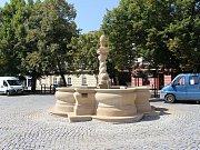V Hradišti skončily čtyři investiční akce. Opravena je i kašna na Masarykově náměstí