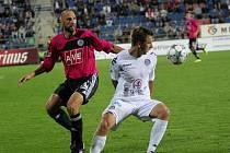 1. FC Slovácko - České Budějovice. Ilustrační foto.