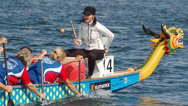 V Ostrožské Nové Vsi se o víkendu 11.12. srpna uskutečnilo III. mistrovství Moravy dračích lodí.