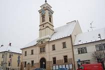 Radnice v Uherském Brodě.