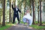 Soutěžní svatební pár číslo 145 - Iva a Jakub Novákovi, Prostějov