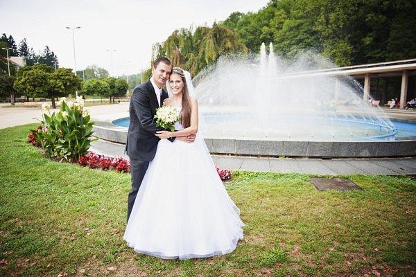 Soutěžní svatební pár číslo 55 - Hana a Roman Janíkovi, Uherský Brod.