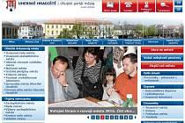 Web stránky města Uherské Hradiště