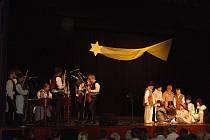 Tradiční předvánoční vystoupení folklorního souboru Hradišťánek