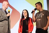 TV Slovácko oslavilo osmnácté výročí od založení v pátek 10. března v hradišťském kině Hvězda premiérou filmu Route 66 na kole.