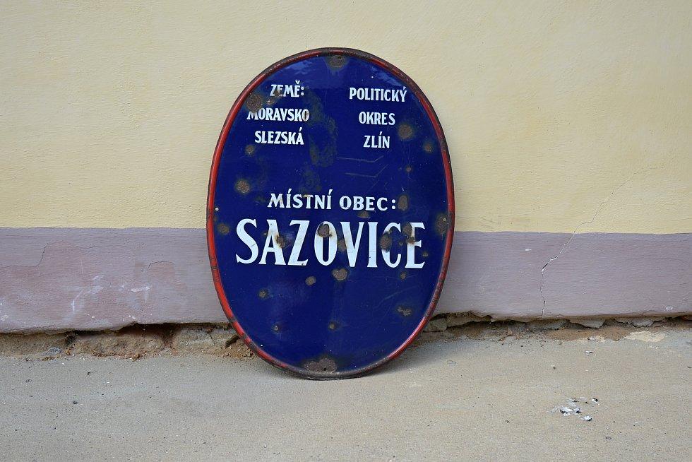 Muzeum v Sazovicích, snímek z 24. června 2021.