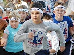 Na závěr závodu patří trať všem sportovcům bez rozdílu věku či kondice.