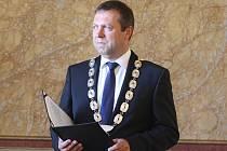 Stanislav Blaha, starosta Uherského Hradiště. Ilustrační foto.