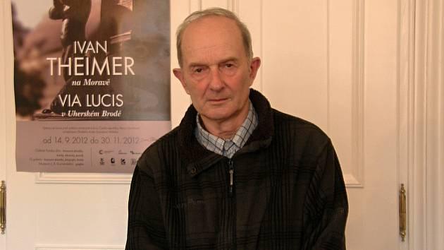 Dlouholetý pedagog, publicista a Broďan Jaromír Slavíček.