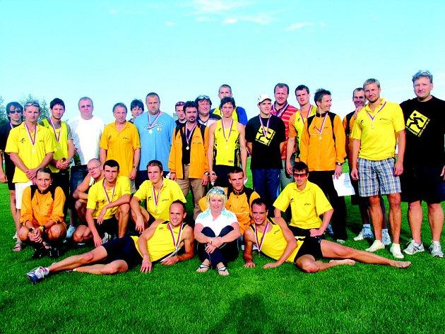 V letošní sezoně se družstvo mužů zapsalo zlatým písmem do historie klubu.