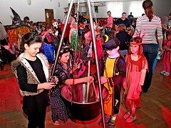 Dětský karneval v Kudlovicích.