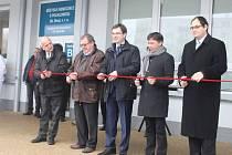 Návštěvníci nemocnice v Uherském Brodě budou nyní vcházet do jejích prostor bezpečnějším vstupem.