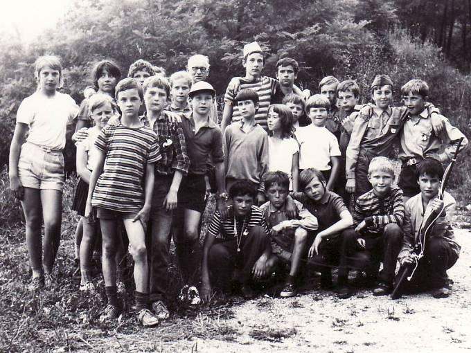 Žabka v roce 1972.