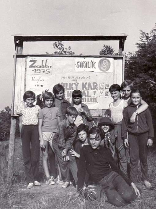 Hradišťské děti na táboře