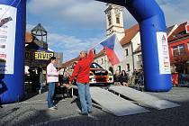 RallyShow v Uherském Brodě.