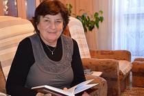 Spisovatelka Alena Bartošíková z Uherského Brodu.