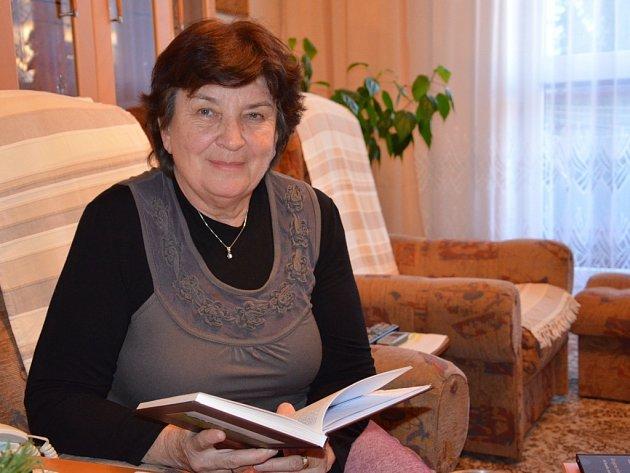 Spisovatelka Alena Bartošíková zUherského Brodu.