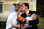 Soutěžní svatební pár číslo 230 -  Lenka a Marek Muchovi, Chropyně.