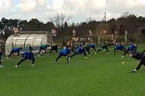 Fotbalisté Slovácka se od neděle připravují v chorvatském Umagu.
