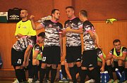 Futsalisté Bazooka CF Uherské Hradiště v úvodním kole 2. futsalové ligy rozstříleli Atraps Hombres Brno 13:4 (6:2)