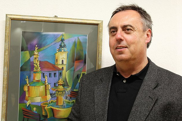 Výstava pastelů Jana Botka zahájila hradišťský festival.
