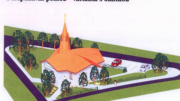 Podle tohoto návrhu se začíná rodit projekt pro výstavbu.