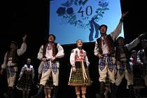 Na oslavách čtyřicátého výročí bojkovického folklorního souboru Světlovánek návštěvníci zaplnili sál Kulturního domu v Bojkovicích. Premiérové pásmo pak představilo pověsti ze Světlova.