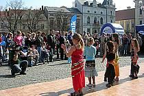 Břišní tanečnice z Domu dětí a mládeže Šikula.