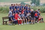 Fotografování fotbalistů 1. FC Slovácko.