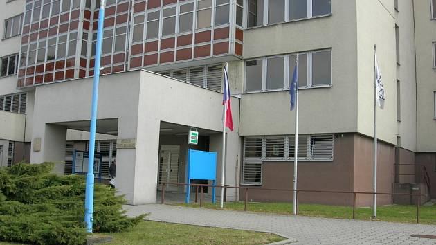 Budova policejního ředitelství v Uh. Hradišti.