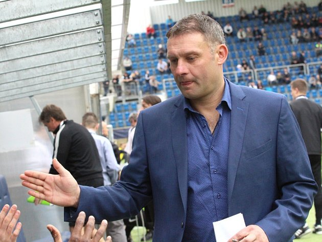 Trenér Slovácka Svatopluk Habanec.
