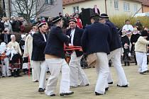 32. festival masopustních tradic ve Strání přivítal pět hostujících souborů.