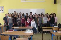 Kolektiv IV. C Obchodní akademie, Vyšší odborné školy a Jazykové školy s právem jazykové zkoušky v Uherském Hradišti.
