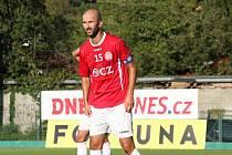 Kapitán fotbalistů třetiligového Uherského Brodu Michal Vrága není s podzimní částí spokojený.