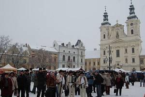 Vánoční jarmark v Uherském Hradišti. Ilustrační foto.