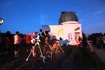 Tradiční pozorování meteorického roje Persiedy na Hvězdárně Uherský Brod.