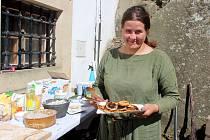 Akce Co vonělo zhradní kuchyně na hradě Buchlově.