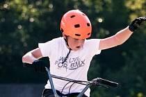 Jakub Hybler z Dolního Němčí získal na historicky prvním mistrovství České republiky v disciplíně Freestyle BMX Park stříbro