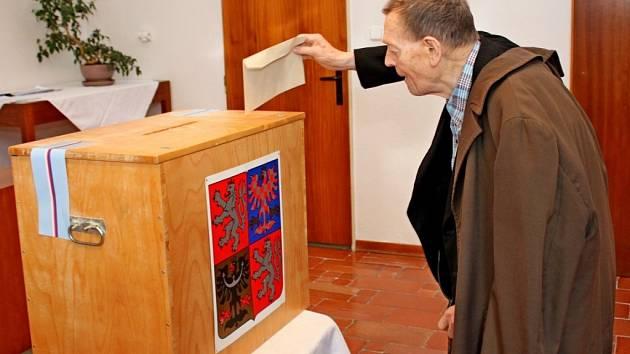 Krajské volby 2016 na Velehradě. Vlastimil Ovčáčík