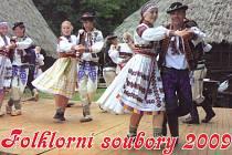 Kalendář Folklorní soubory pro rok 2009.